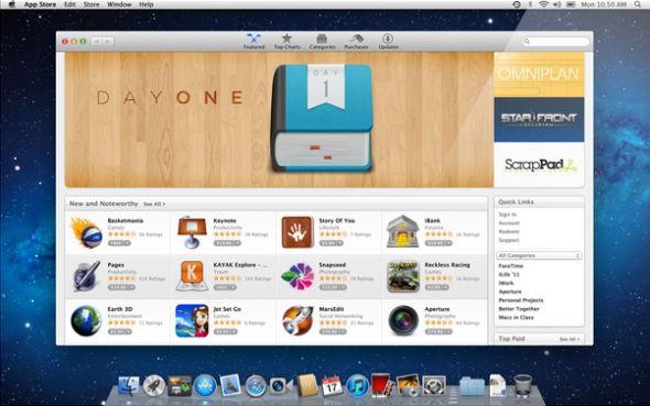 蘋果Mac App Store應用總數已超1萬個