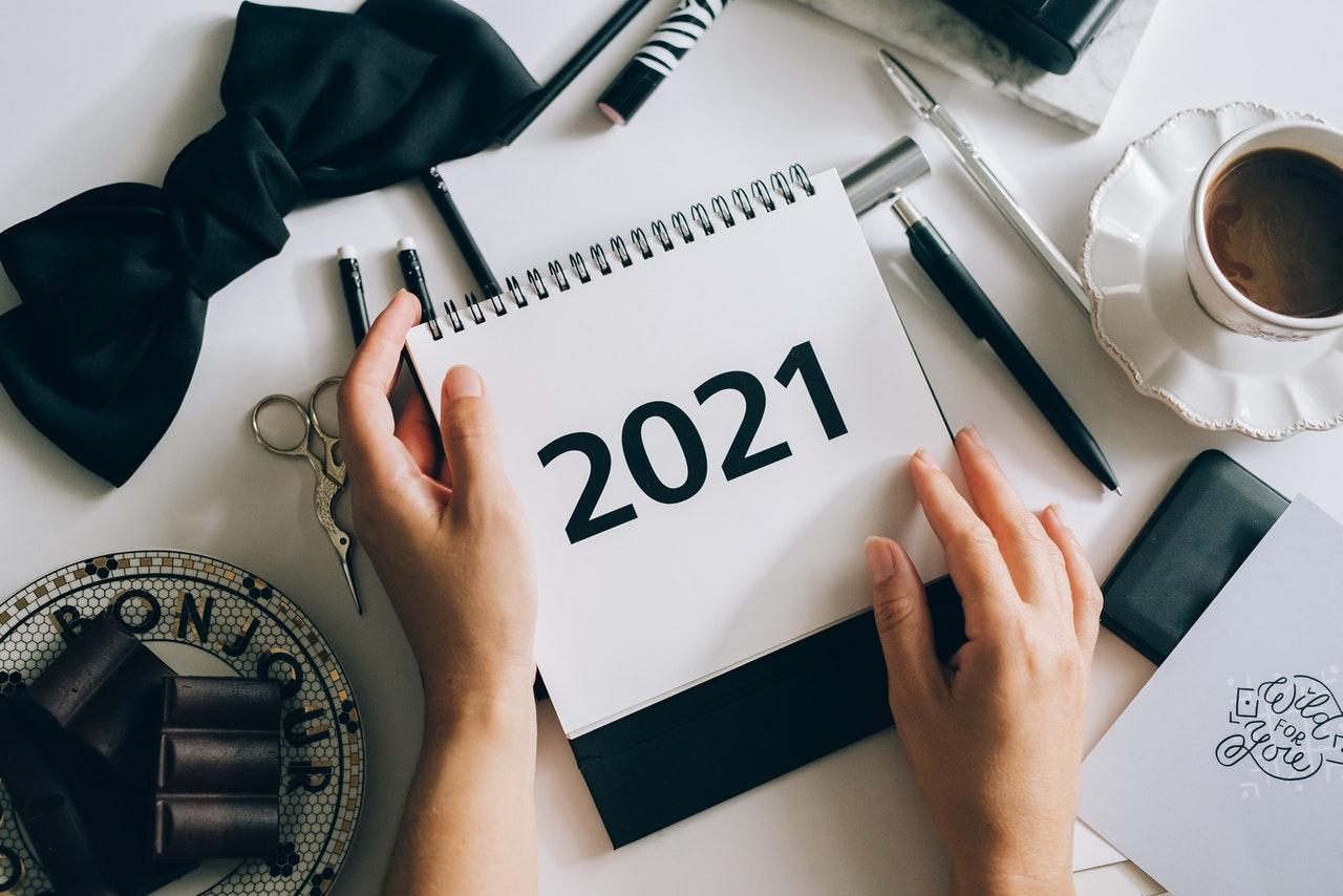 2021新年快樂!迎接 2021,揮別 2020!