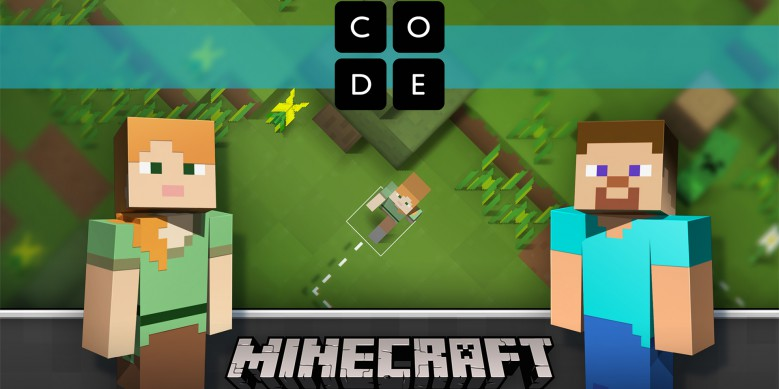 Hour of Code 台灣微軟掀起程式設計熱潮,《Minecraft 我的世界》玩遊戲也能寫程式!