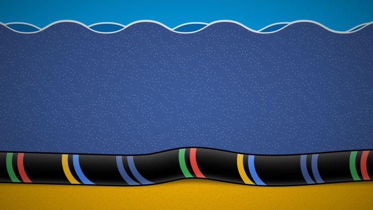 Google和Facebook正在建設最快的跨太平洋海底光纖電纜